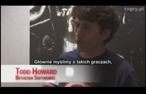 Todd Howard at GryOnline.pl