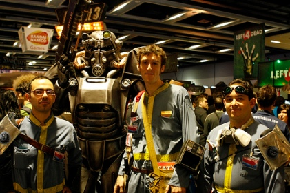 Fallout fans at PAX2008/Photo Zacbond